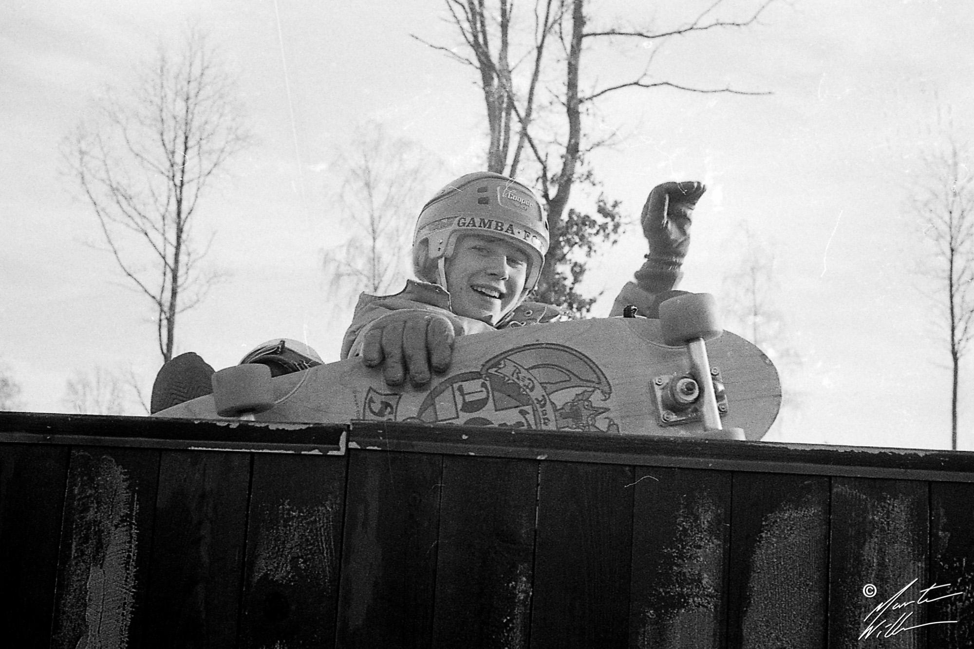Fredrik Koch, 1-wheeler,  Jönköping, 1978