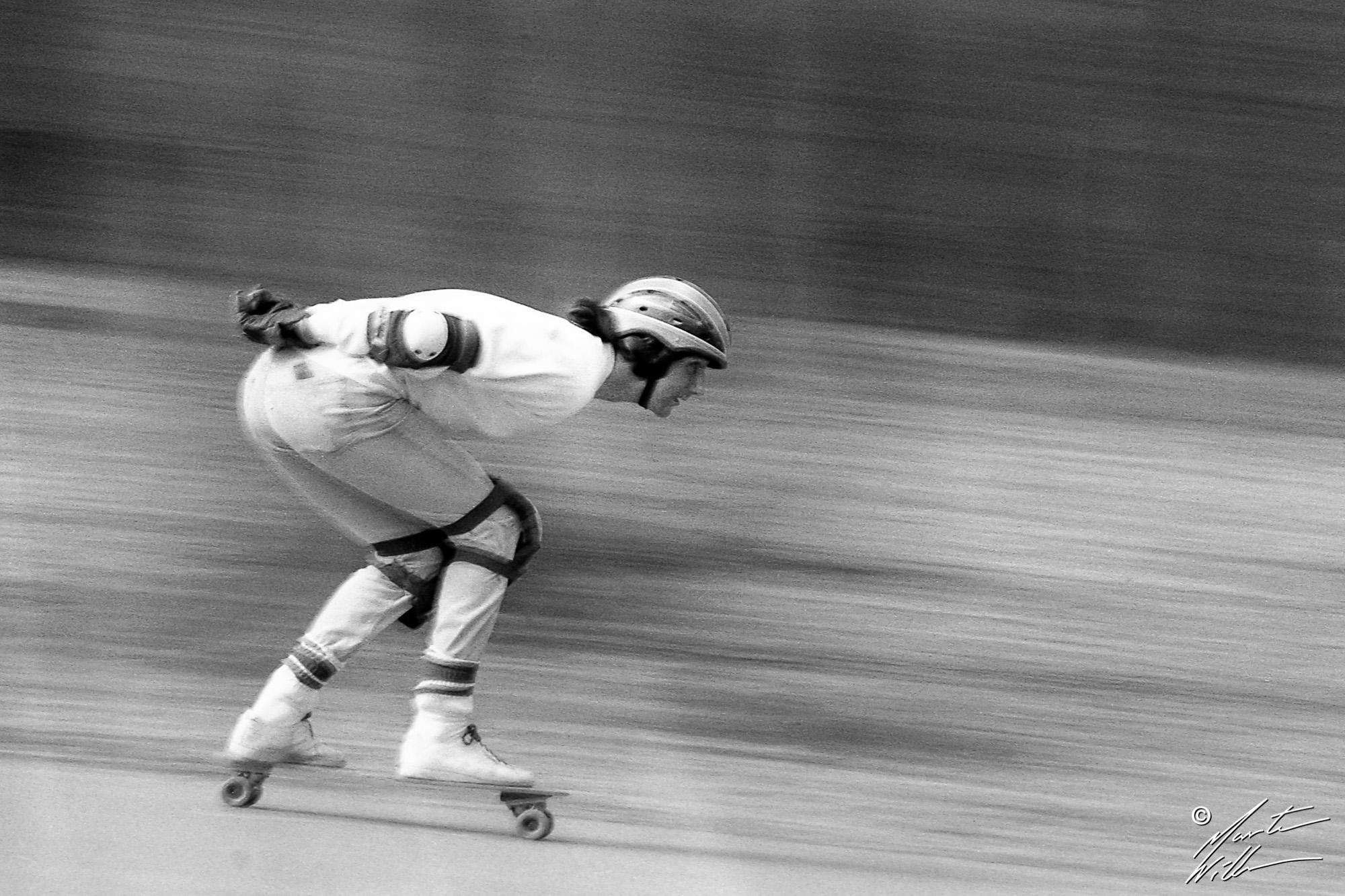 Greger Petersen, Downhill,  Jönköping 1982