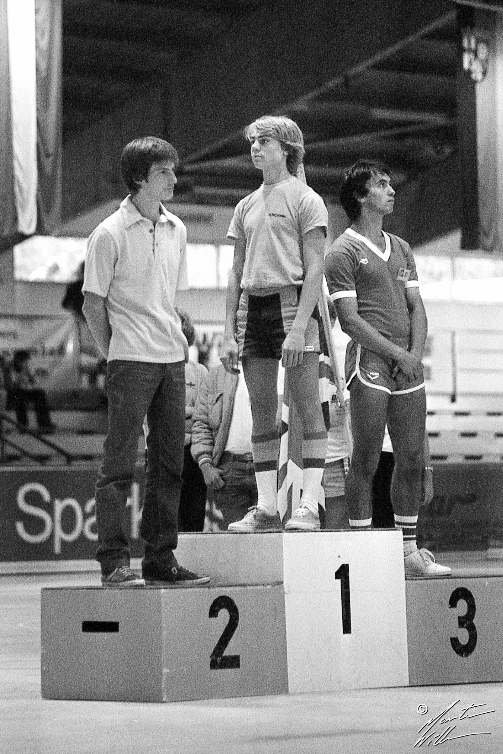 Per Welinder, Europamästare, Altenau, 1981