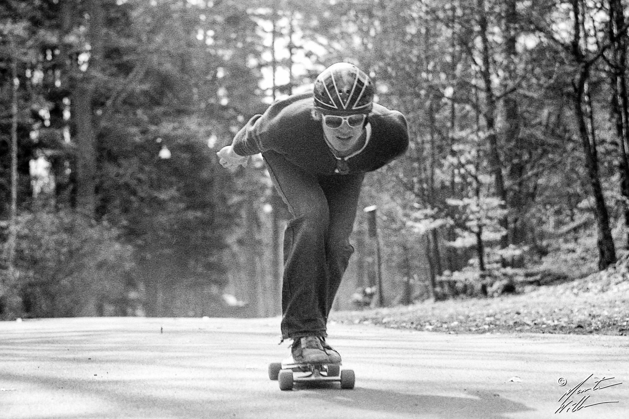 Philip Willners, Downhill,  Jönköping 1982