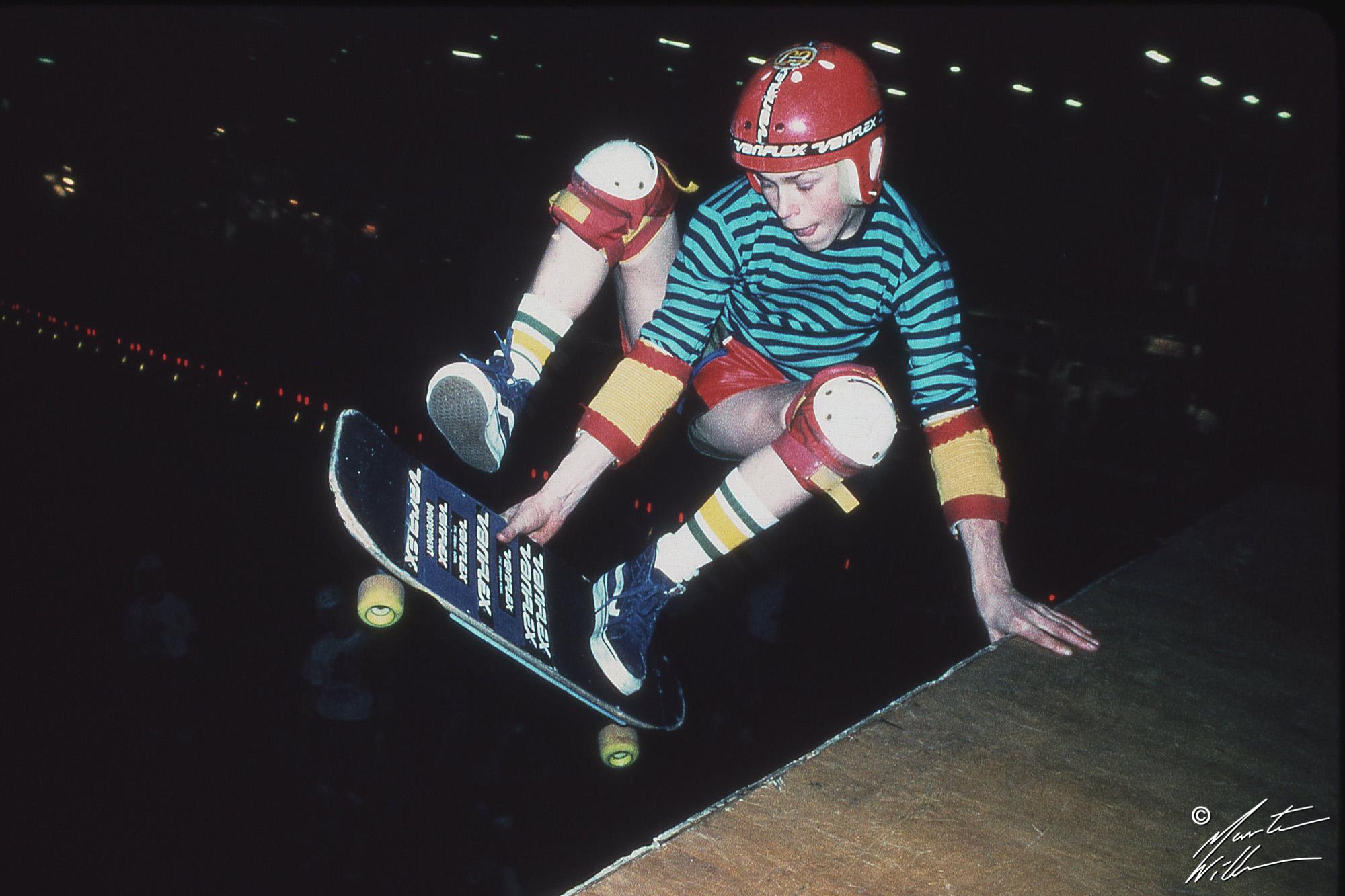 Hans Jacobsson, Layback varial,  Eurocana Open, Stockholm 1981