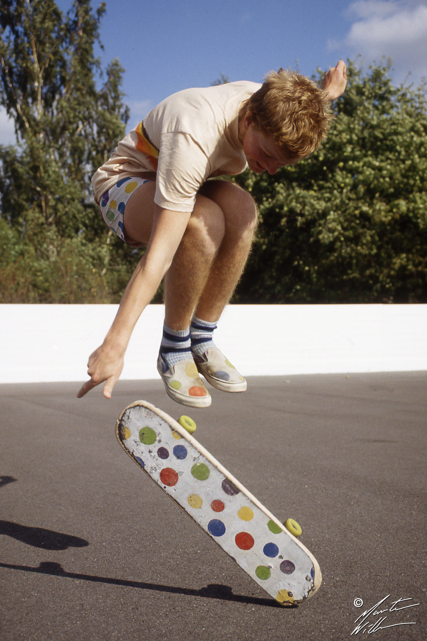Martin Willners, 180 fingerflip, Sverigecupen Linköping, 1981