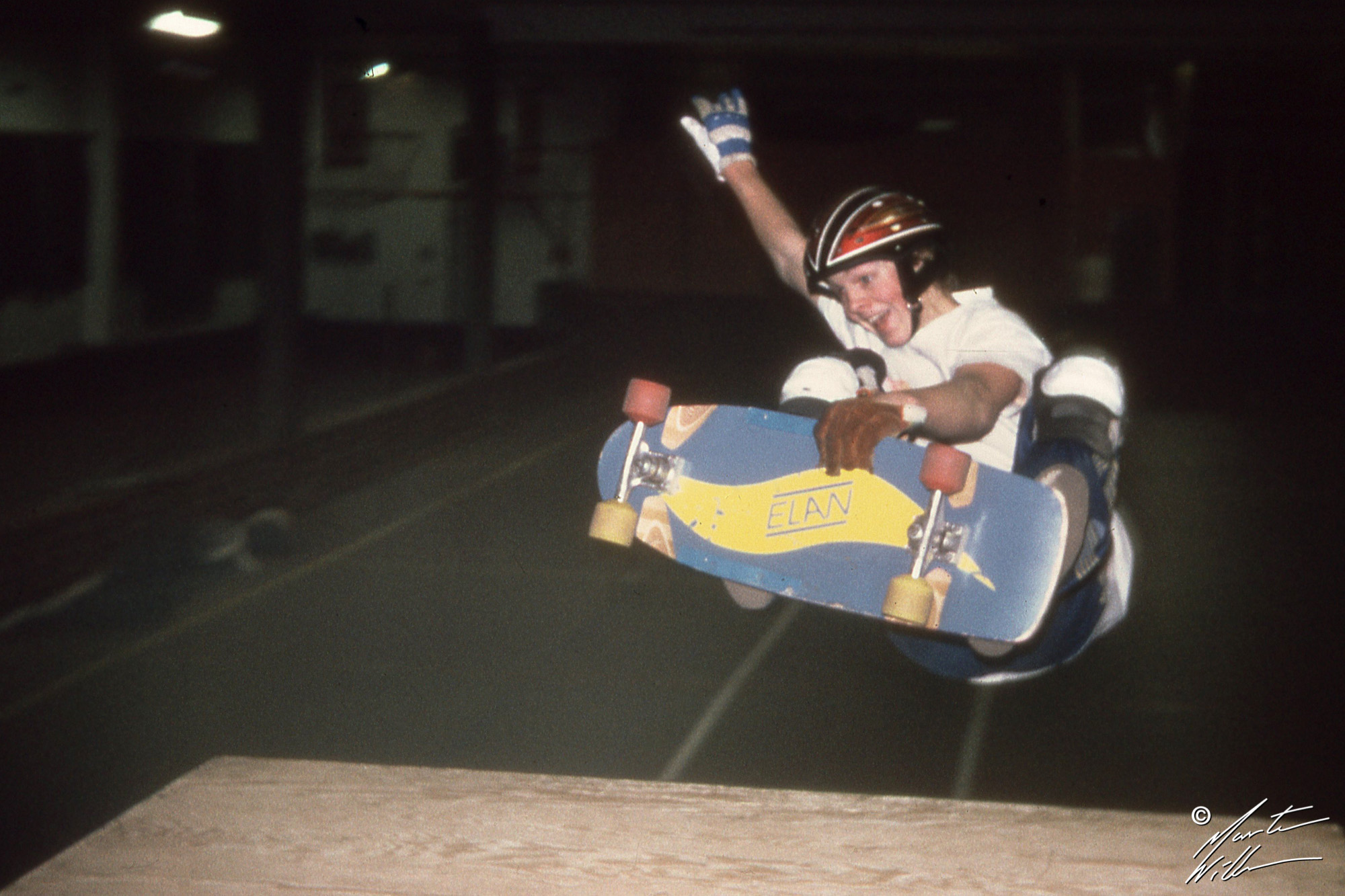 Martin Willners, Frontside air,  Jönköping 1980