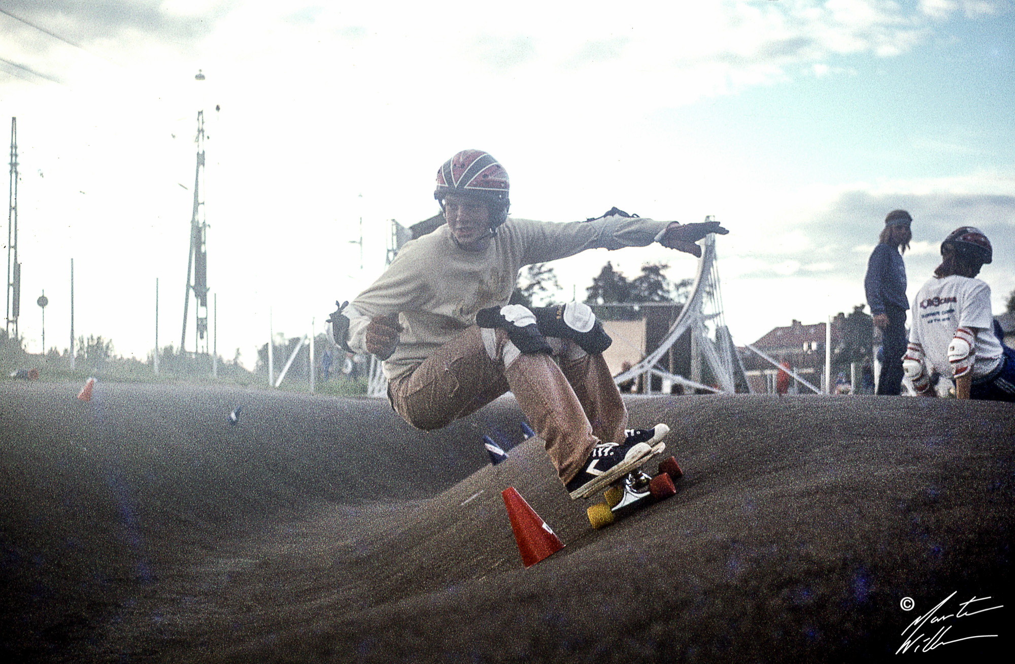 Martin Willners, Banked slalom,  Eurocana Summer Camp 1979