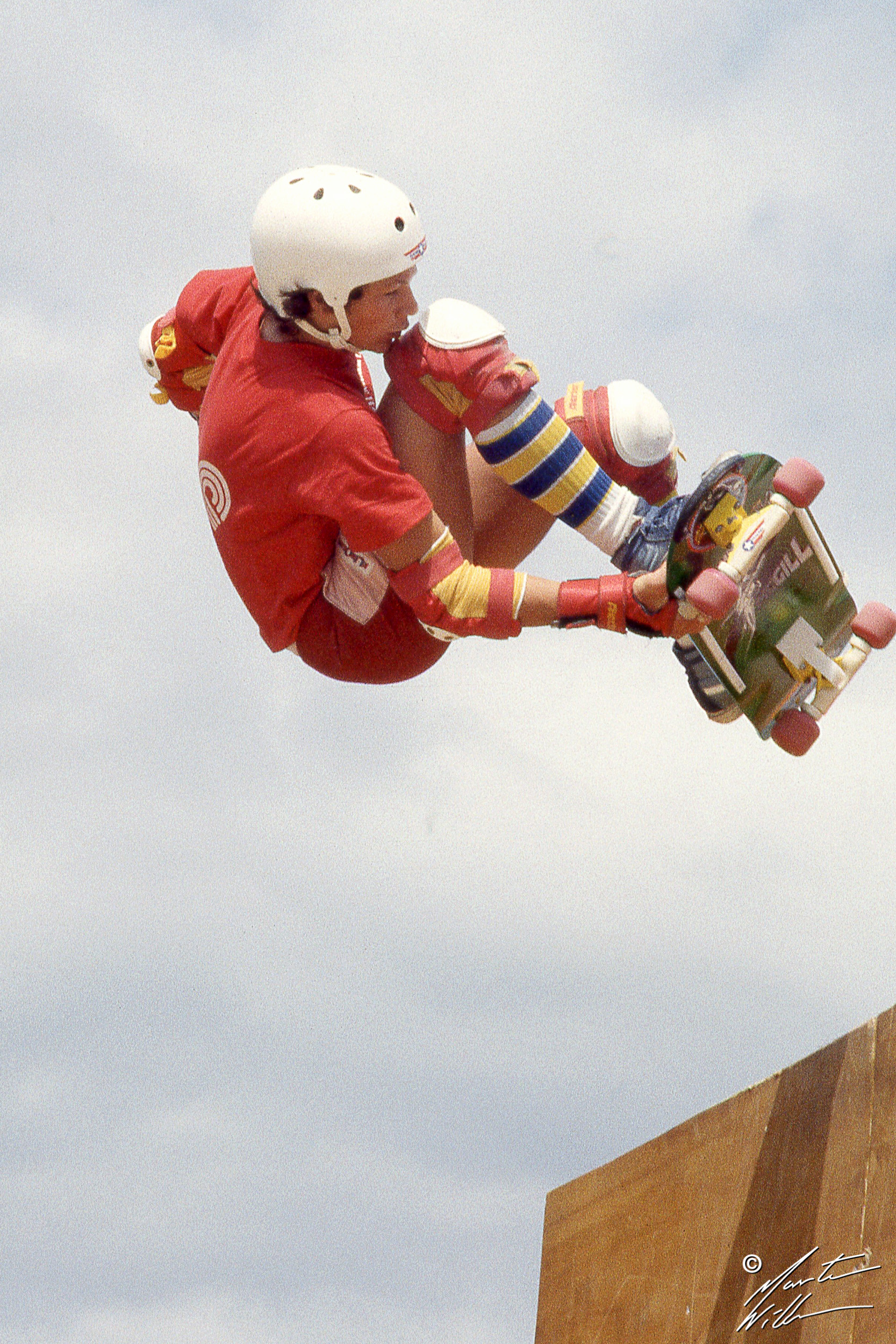 Mike McGill, Handplant,   Eurocana Summer Camp, Rättvik 1981