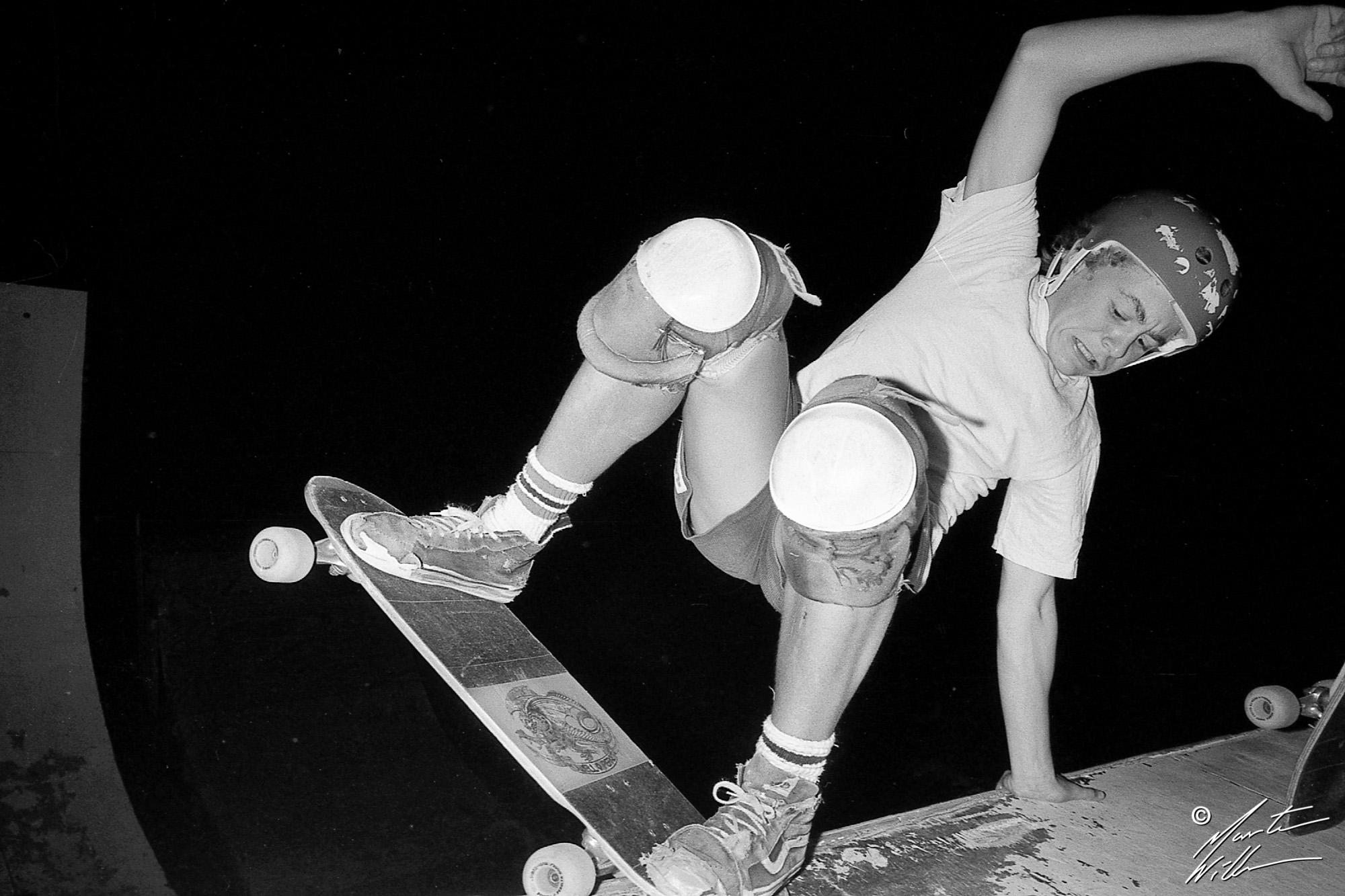 Nicke Hallgren, Layback,  Huskvarna Folkets park, 1981