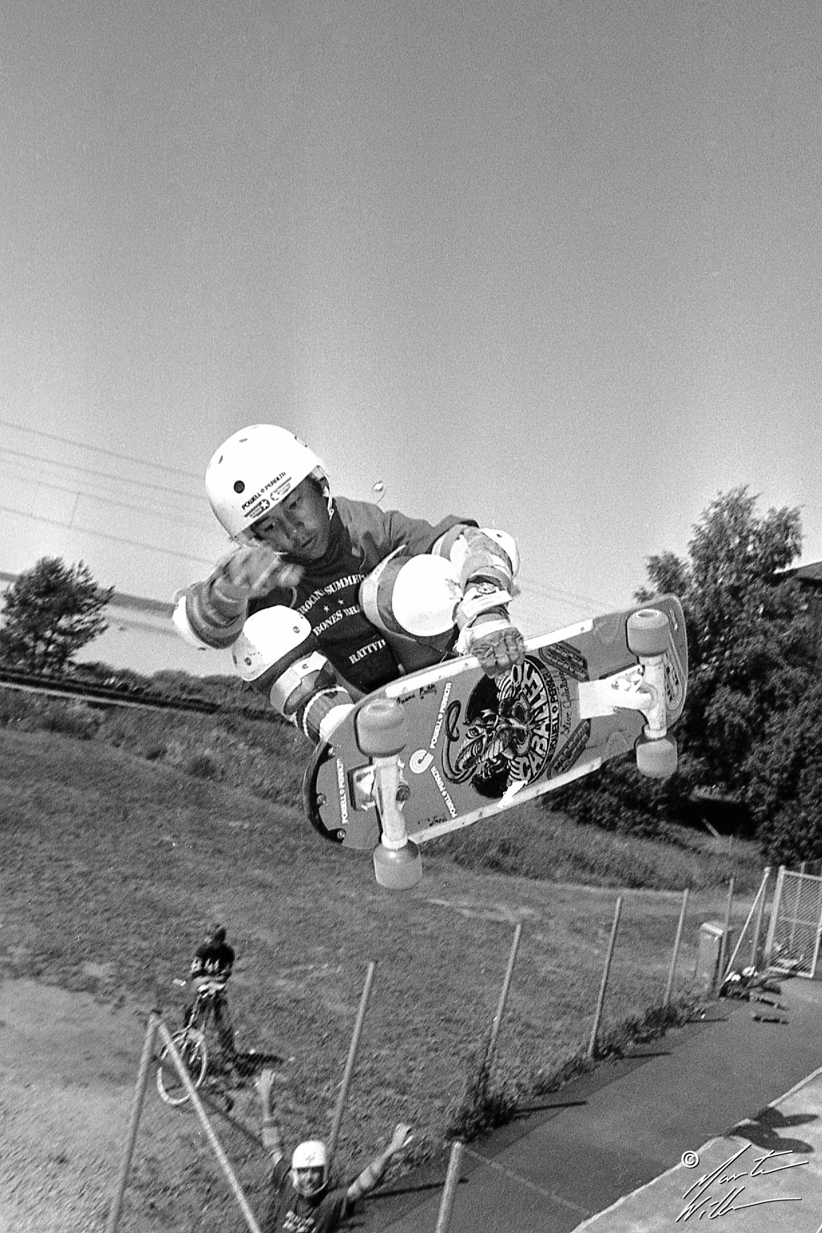 Steve Caballero, Frontside air,   Eurocana Summer Camp, Rättvik 1981