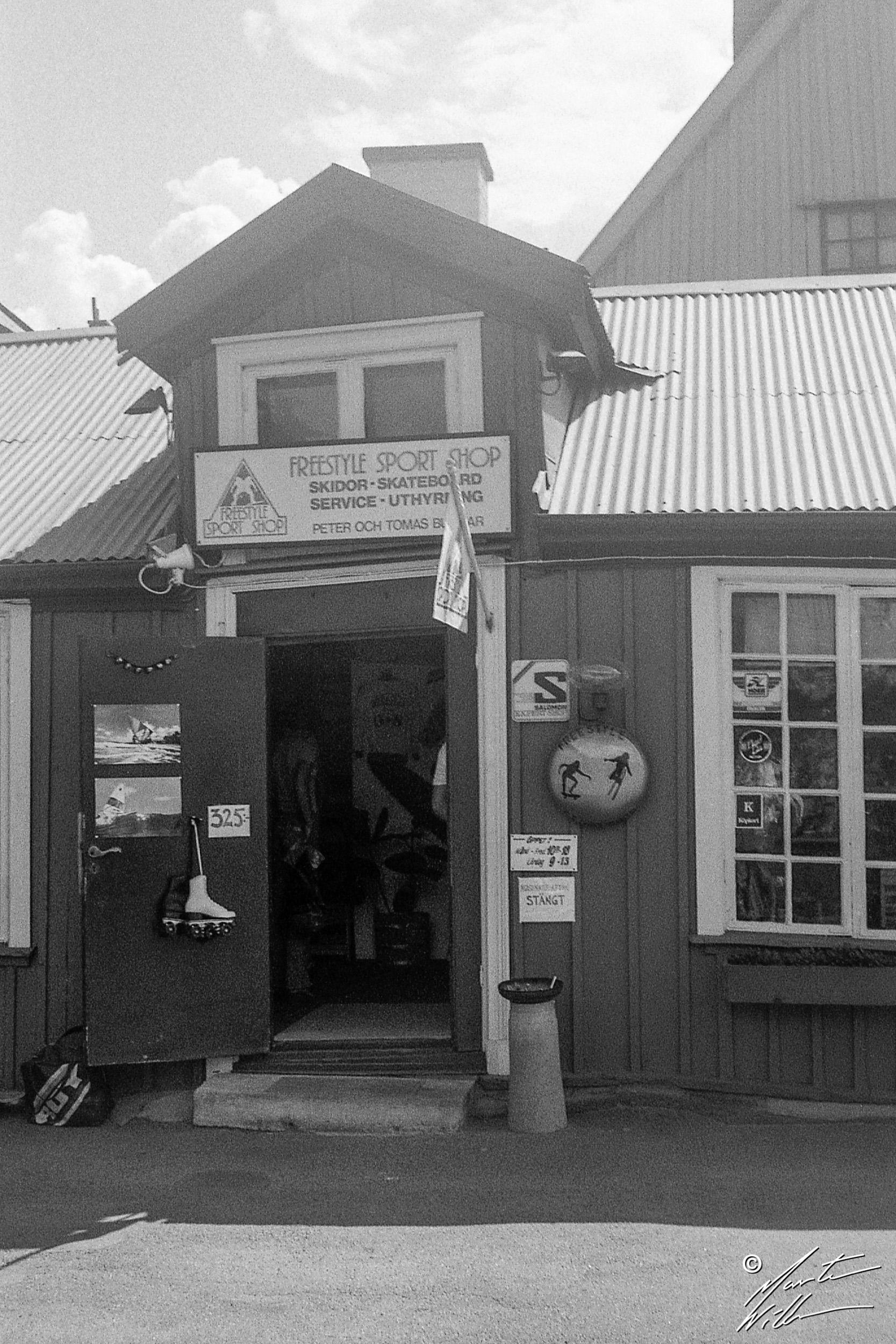 Freestyle Sport Shop,  Jönköping, 1978