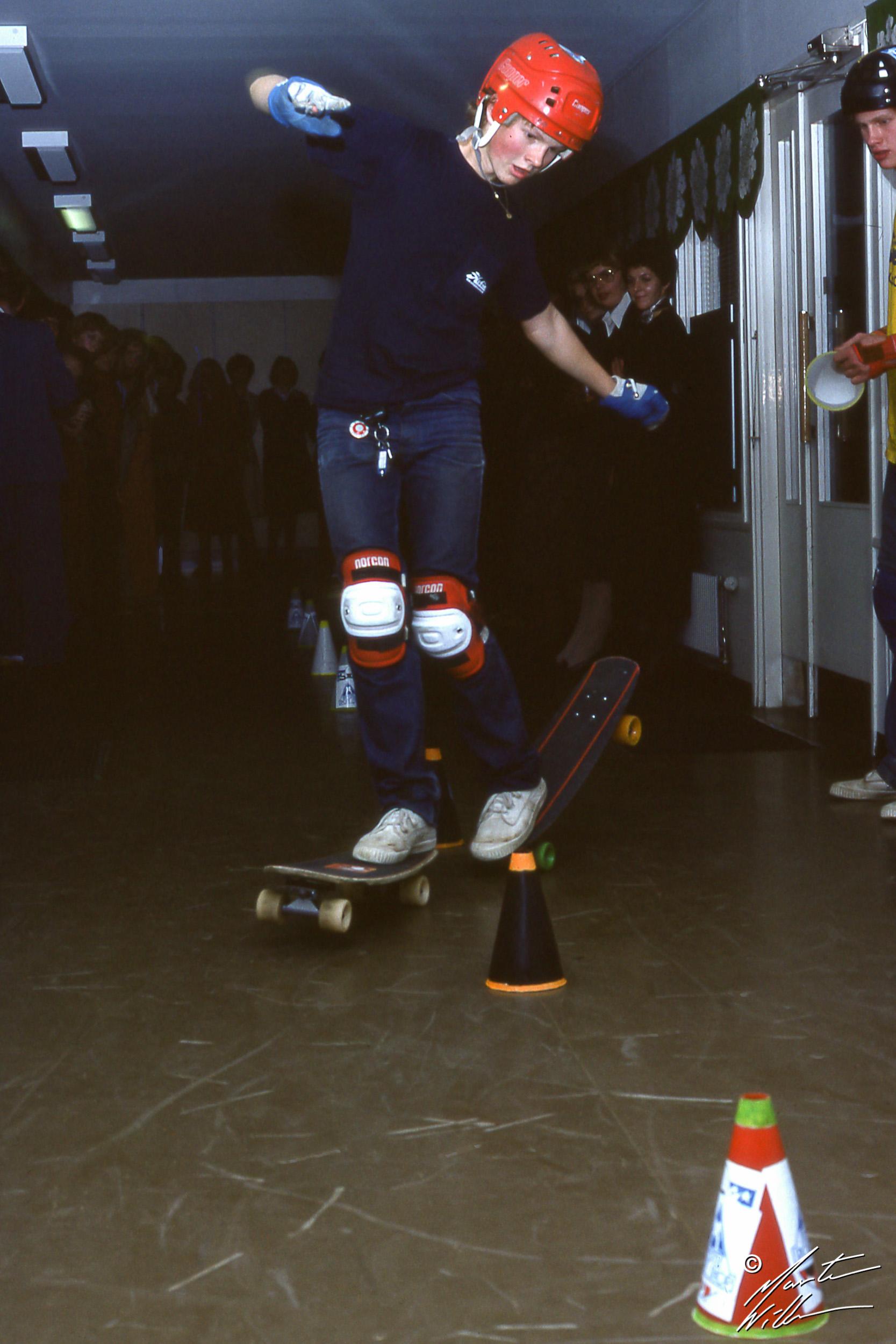 Martin Willners, Daffy slalom,  Jönköping, 1978