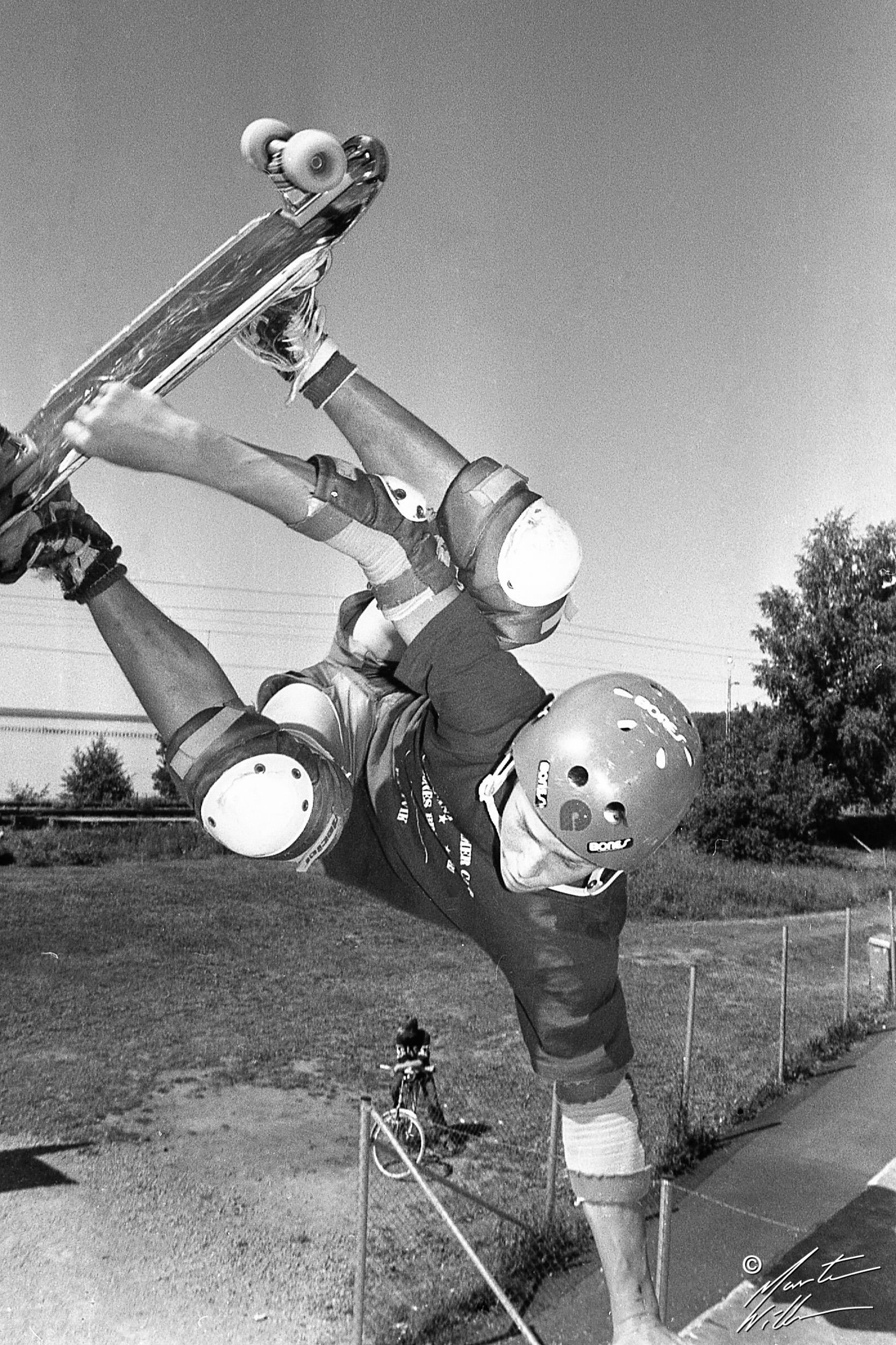 Hans Jacobsson, Layback air,  Eurocana Summer Camp, Rättvik 1981