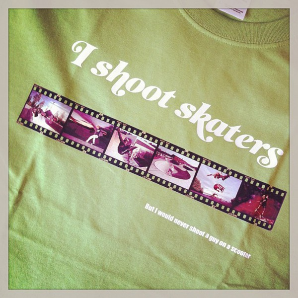 I shoot skaters
