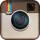Instagram logo 40px