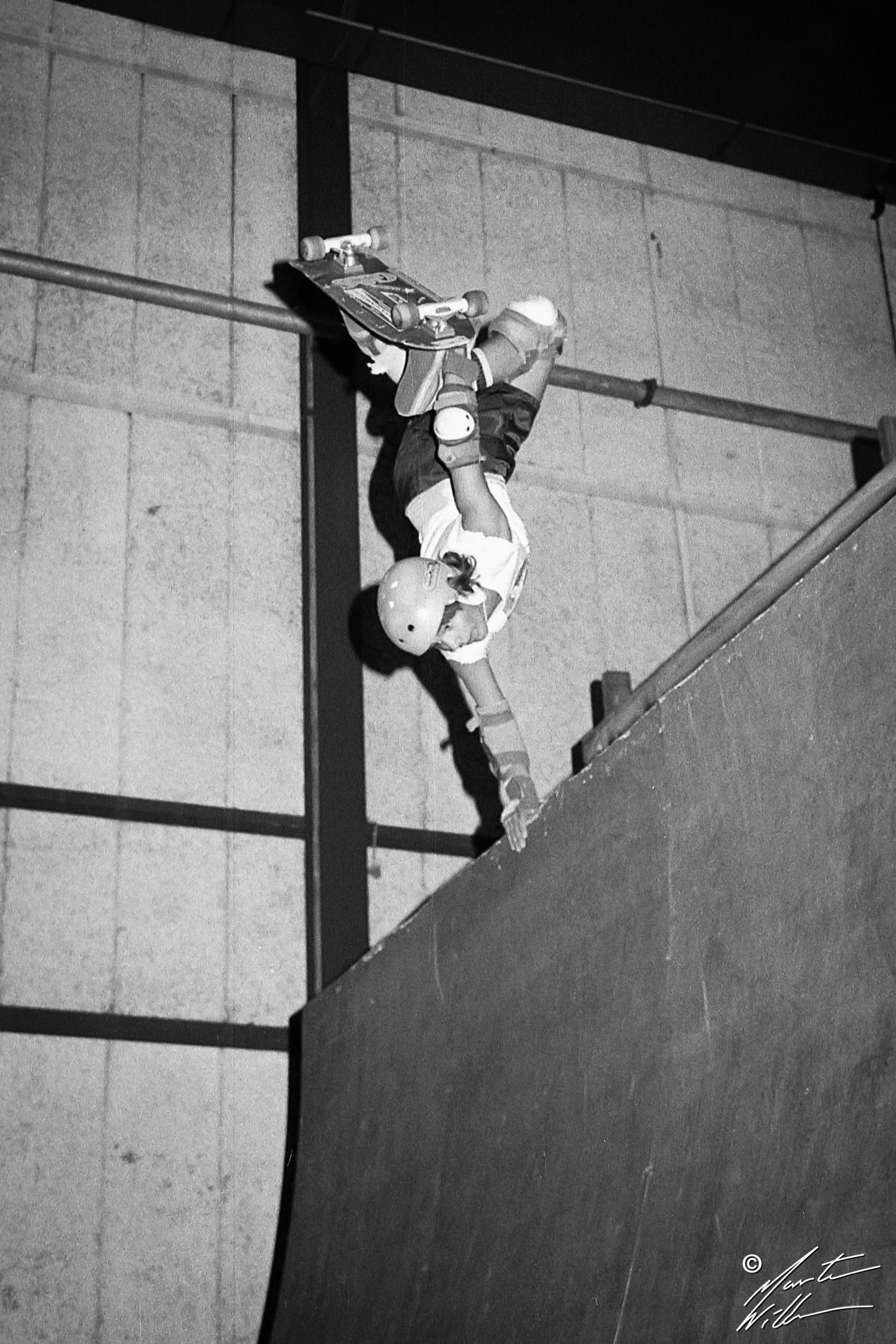 Patric Backlund_, Handplant, Eurocana Open, Stockholm  1983