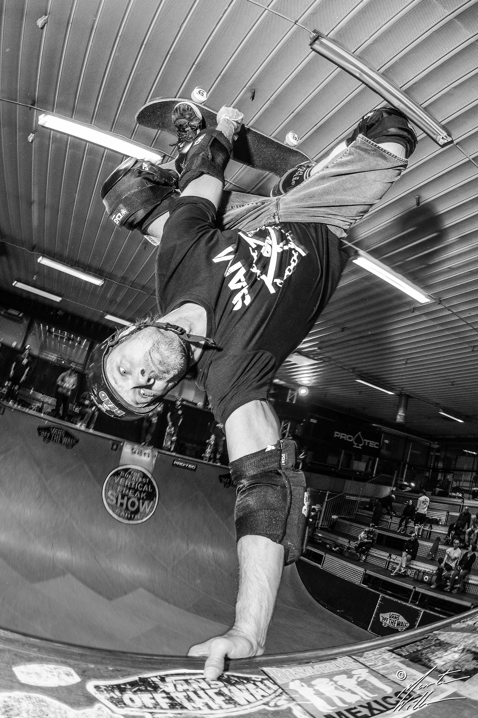 Tony Jansson, handplant, Vert Attack X, Malmö 2016