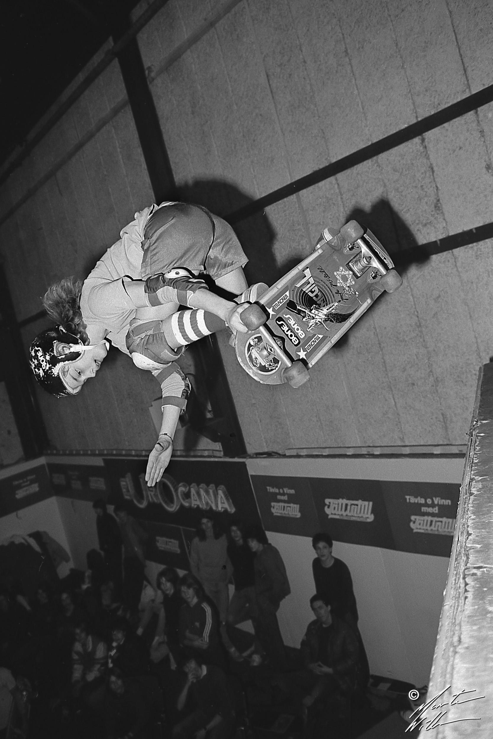 Anders Osborne, Backside air, Eurocana Open, Stockholm 1982