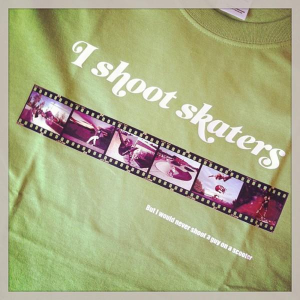 I shoot skaters