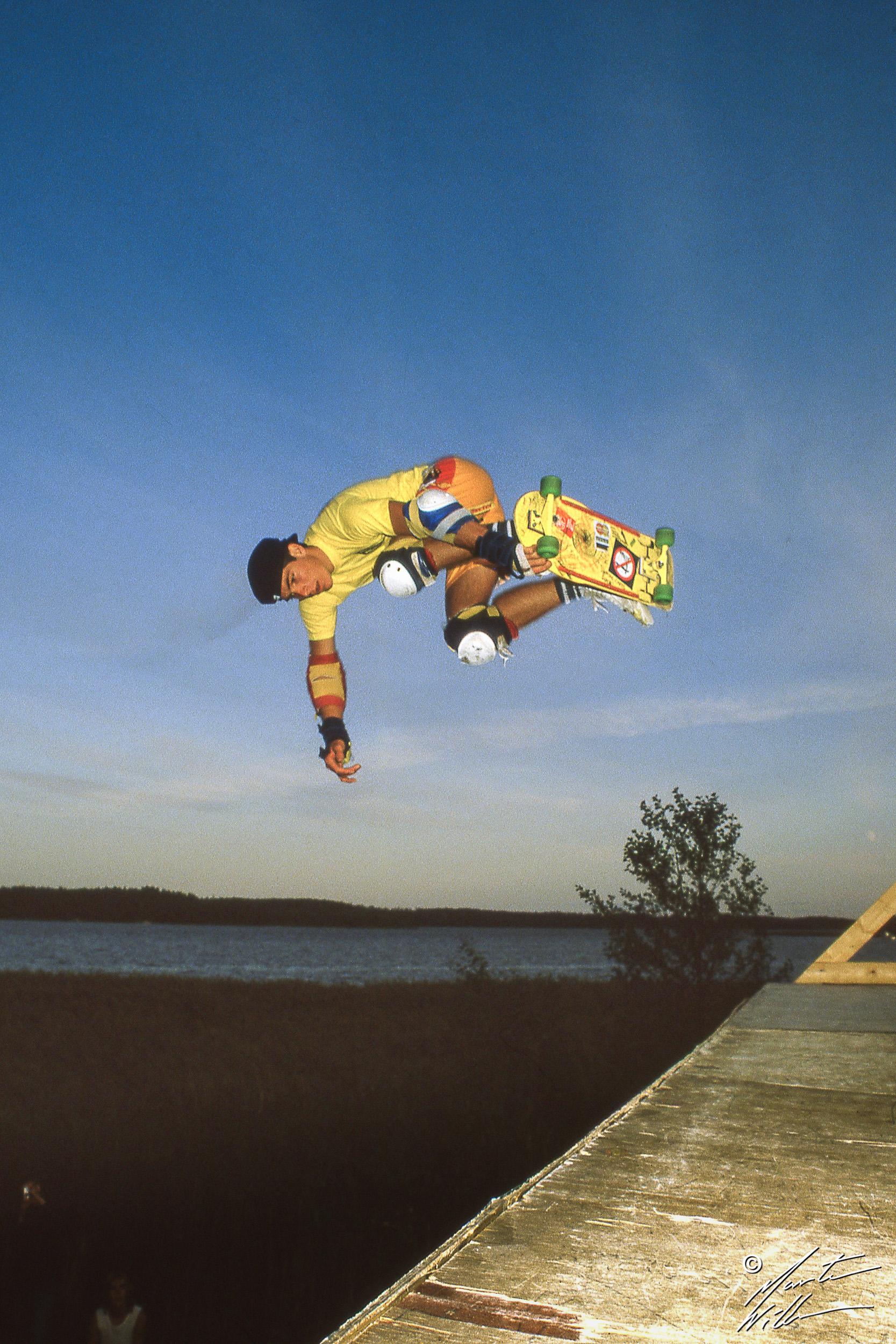 Neil Blender, Mute air, Summer Camp, Täby  1983