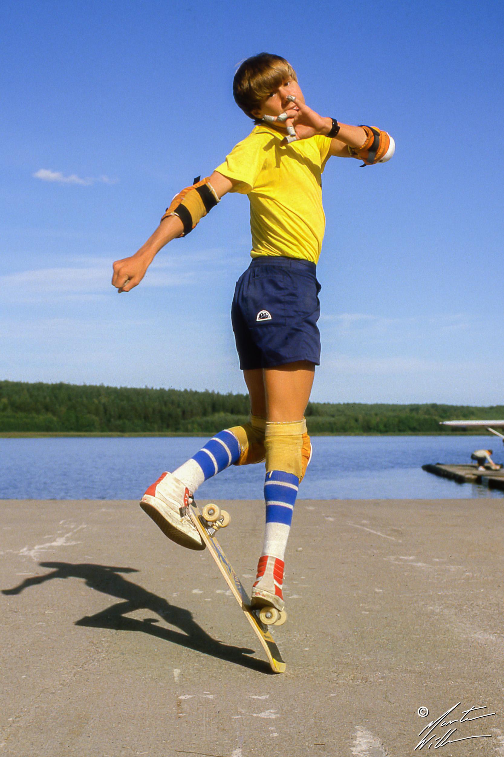 Rodney Mullen, Nohand 50/50, Summer Camp, Täby  1983