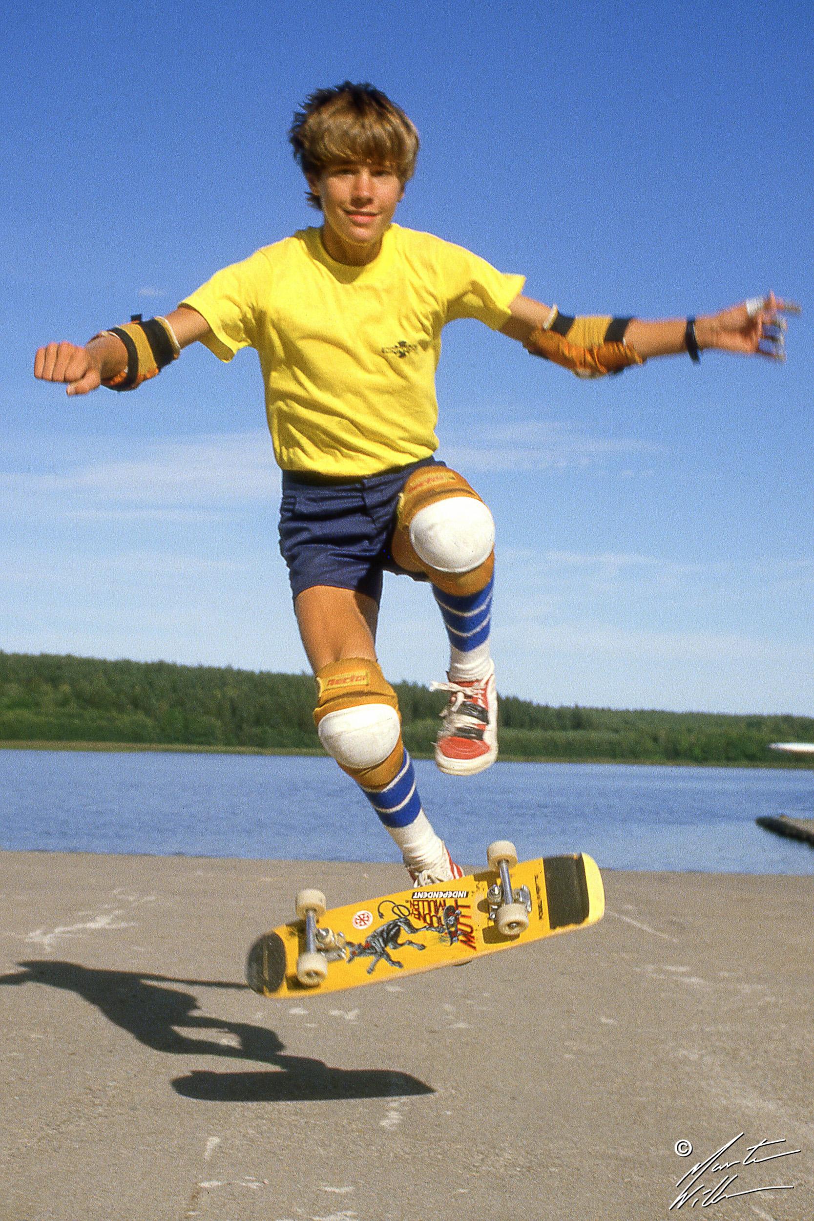 Rodney Mullen, Impossible, Summer Camp, Täby  1983